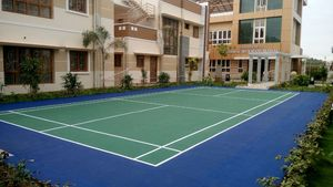 SPU badminton court