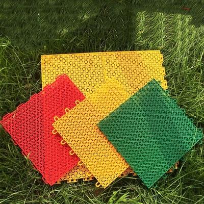 Outdoor PP Interlocking Plastic Floor Tiles