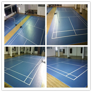 2 badminton court PVC at YMCA kannur kerala India