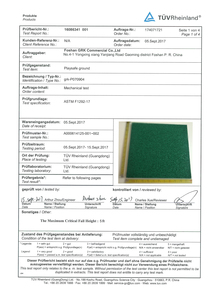 ASTM(TUV Test reports)