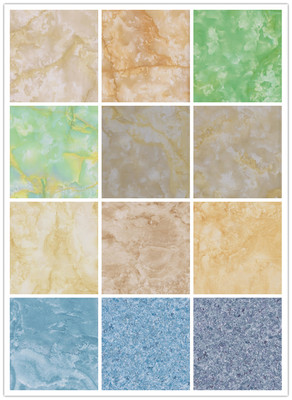 Advanced Technolgy Waterproof Marble Look Stone PVC Laminated Flooring
