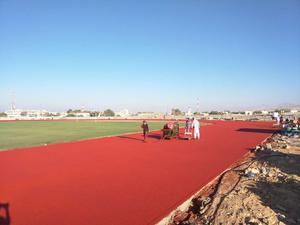 Ruslye army track Oman